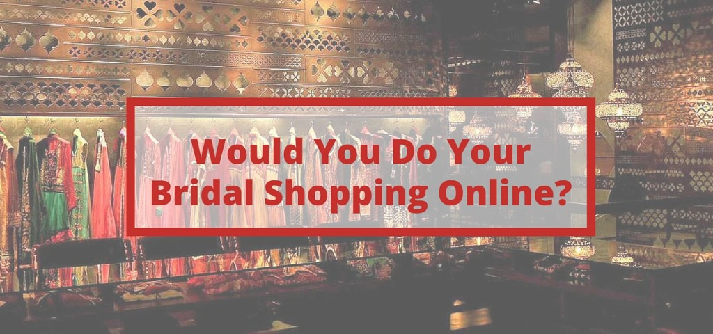 bridal shopping online