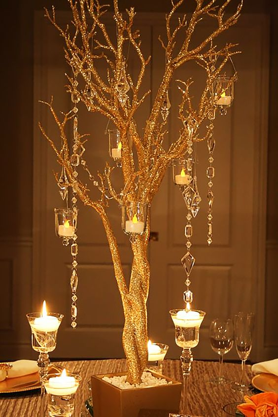 tree centrepiece idea