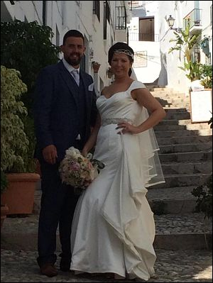 Aine Spanish wedding testimonial
