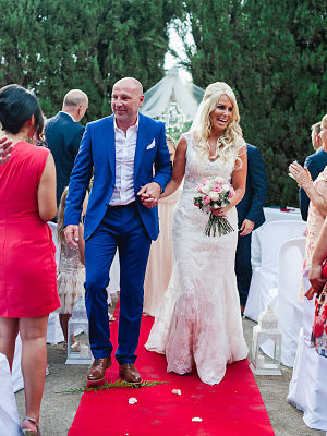 Jenny Dean wedding marbella spain